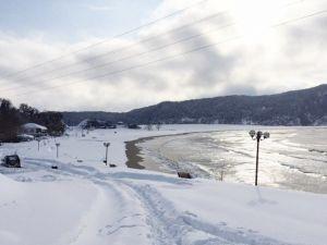 İnkumu Ve Mugada'dan Eşsiz Kar Manzaraları