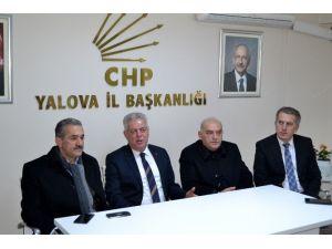 AK Partili Vekilden CHP'ye Ziyaret