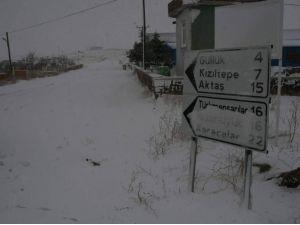 Yozgat'ta 20 köy yolu ulaşıma kapandı