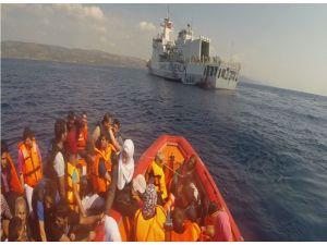 Kurtarılan kaçak göçmen sayısı yüzde 570 arttı