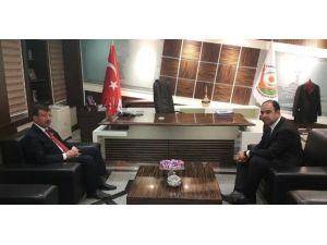Milletvekili Cevheri'den Başkan Çiftçi'ye Ziyaret