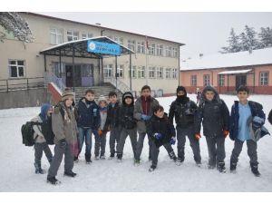 Ilgaz'da Eğitime Kar Engeli