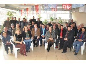 CHP İlçe Başkanlarından Küçükmenderes Turu