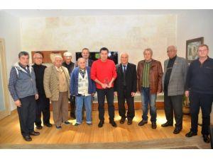 Emekli Astsubaylardan Başkan Kocadon'a Ziyaret