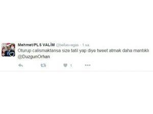 Yoğun Kar Yağışı Sonrasında Öğrenciler Vali Orhan Düzgün'ü Tweet Yağmuruna Tuttu