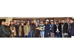 AK Parti Sakarya İl Gençlik Kolları Üyeleri, Sekmen'i Ziyaret Etti