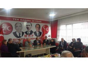 Mastöb'den MHP Malatya İl Teşkilatına Ziyaret