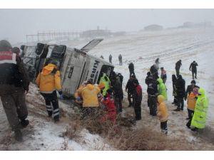 Otobüs Kazasında Hayatını Kaybeden 7 Kişinin İsimleri Belli Oldu