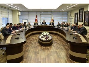 Başkan Çimen'den Birim Müdürlerine 2016 Talimatı