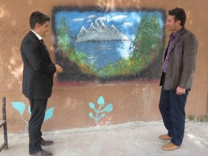 Beyşehir'de Okul Duvarları Resimlerle Süsleniyor