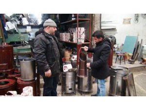 Sert geçen kış soba satışlarını artırdı