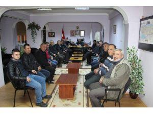 Başkan Çalışkan'dan Yıl Sonu Değerlendirme Toplantısı