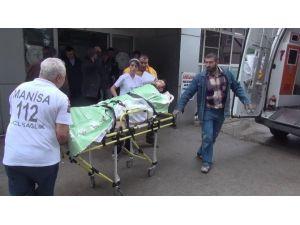 Soma'da Bir İşçi Ağır Yaralandı