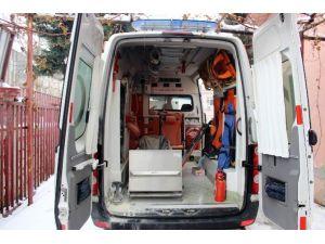 Hasta Taşıyan Ambulans Facianın Eşiğinden Döndü