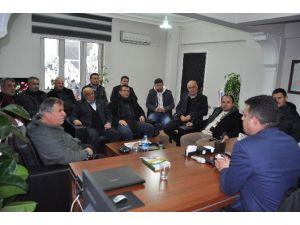 AK Parti Korkuteli İlçe Teşkilatı'ndan Emniyete Ziyaret