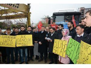 AK Gençlik'ten Bayırbucak Türkmenlerine UN Yardımı