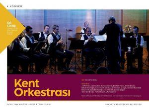 Kent Orkestrası Yeni Repertuarını Seslendirecek