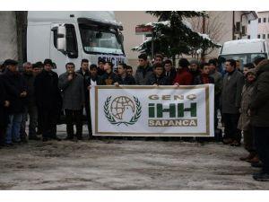 Sapanca Genç İHH'dan, Bayırbucak Türkmenlerine Yardım Eli