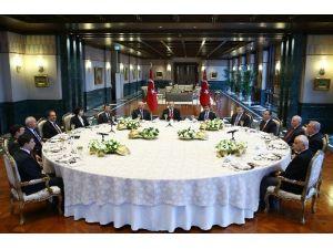 Üç Kuvvetin Başkanları Beştepe'de