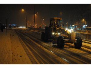 Şanlıurfa'da Kar Nedeniyle Kırmızı Alarm Verildi