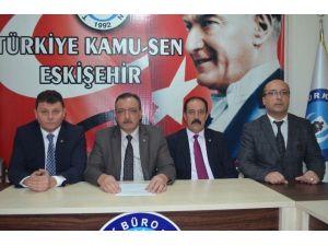 Türk Büro Sen Eskişehir Şube Başkanı Zafer Güney: