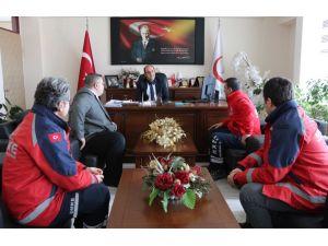 Nevşehir UMKE ekibi Hatay'dan döndü