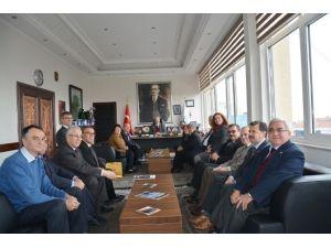 CHP İl Başkanı Ökten'den Başkan Albayrak'a Ziyaret