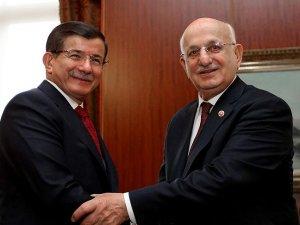 Başbakan Davutoğlu, TBMM Başkanı Kahraman ile görüşecek