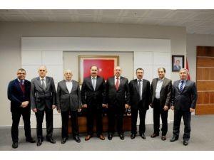İstanbul Üniversitesi'nden NKÜ Rektörü Şimşek'e Ziyaret