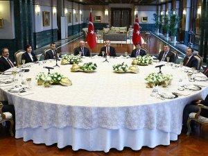 Erdoğan; yasama, yürütme ve yargı organlarının başkanlarıyla buluştu