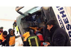 Kırşehir'de kaza yapan otobüs şoförü tutuklandı