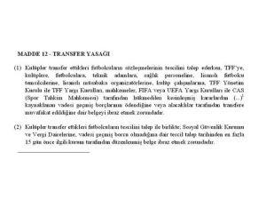 Donk'u açıklayan Galatasaray, transferi TFF'de tescil ettiremedi