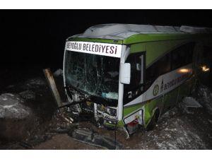 Cenaze Dönüşü Kaza: 17 Yaralı