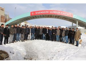 Yüksekova'da Sınır Kapısı Açıklaması