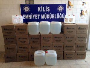 Kilis'te Sahte İçki Operasyonu