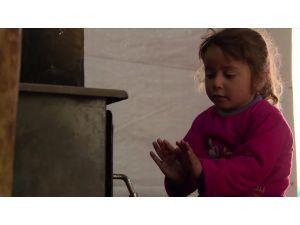 Mülteci kampında kış