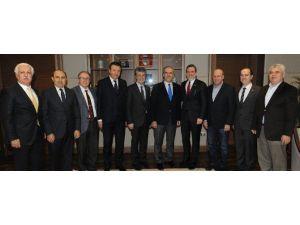 Burkay'dan Başkan Altepe'ye 'Hayırlı Olsun' Ziyareti