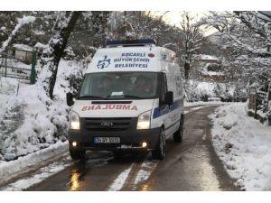 Hasta Nakil Ambulansları Engel Tanımadı