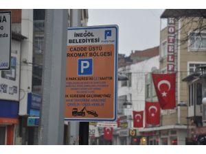İnegöl'de Parkomat Sistemi Büyükşehir'e Geçti