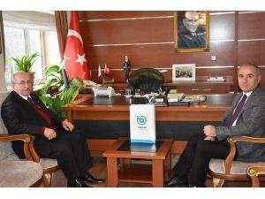 Başkan Albayrak Çorlu Kaymakamı Kılıç'ı Ziyaret Etti