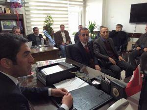 Eğitim-iş'ten CHP'ye Hayırlı Olsun Ziyareti