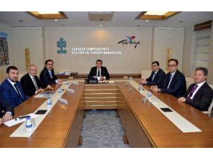 KTO Başkanı Öztürk'ten Bakan Ünal'a Ziyaret