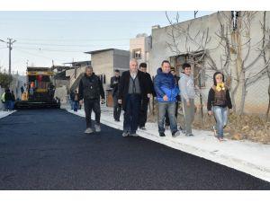 Sarıçam Belediyesi Esentepe'deki yolları asfaltladı