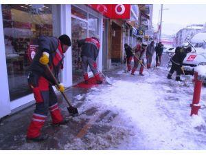 Bayburt'ta Karla Mücadele Çalışması