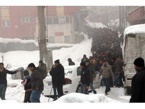 Şırnak'ta Cenaze Gerginliği