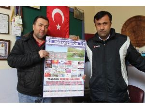 Başköyspor Takvimleri Gurbetçilere Ulaştı