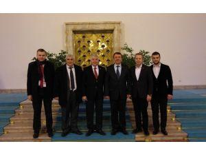 MÜSİAD Düzce Başkanı Ve Yönetimi Ankara'da