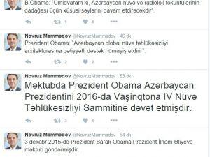 Obama, Aliyev'i Nükleer Güvenlik Zirvesi'ne davet etti