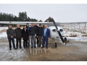 Gaziantep Üniversitesi uçak aldı pilot yetiştirecek