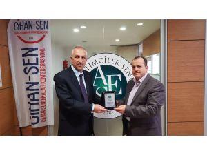 Aktif Eğitim Sen Erzurum Şubesi'nde görev değişikliği
